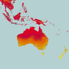 World Temperature Map October by Thematic Maps And City Maps Climate