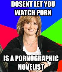 Pornographic Memes - dosent let you watch porn is a pornographic novelist sheltering