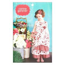 ruffle girl gardner nest ruffle dress pattern discount
