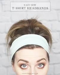 stretchy headbands easy sew diy t shirt headband tutorial no seams headband