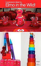 Elmo Centerpieces Ideas by Elmo In The Wild Party Ideas Soiree Event Design