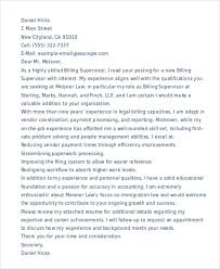9 legal cover letter free word pdf format download free