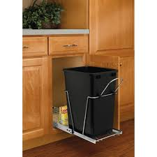Under Cabinet Pull Out Trash Can Under Cabinet Trash Can Pull Out Roselawnlutheran With Lid Sink