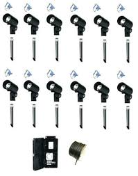Led Low Voltage Landscape Lighting Kit Led Landscape Lighting Sets Mreza Club