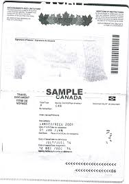 bureau des visas canada what is the difference between a certificate of identity and a
