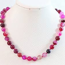 necklace wholesale images Wholesale price rose red stripes carnelian onyx agat 8mm 10mm 12mm jpeg
