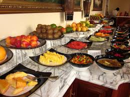 interior design of cheerful buffet table decorating ideas andrea