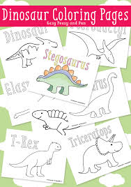 dinosaur coloring pages easy peasy free printable activities