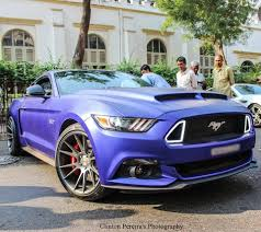 mustang modified 2017 rohit shetty u0027s customized ford mustang gt in photos
