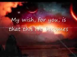 my wish by rascal flatts w lyrics free happy s day