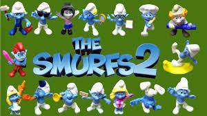 2013 smurfs 2 mcdonald u0027s happy meal toys papa smurf