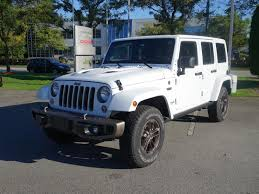 jeep rubicon white 2017 new 2016 jeep wrangler unlimited 75th anniversary edition suv