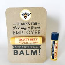 employee appreciation gift you u0027re the balm chapstick