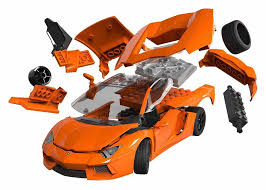 build your lamborghini aventador airfix build lamborghini aventador car model kit amazon co