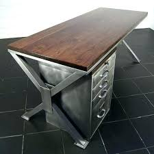Metal Office Desk Metal Office Desk Interque Co