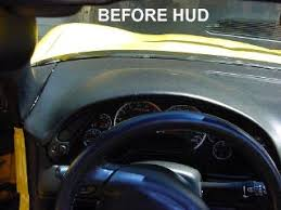 c5 corvette heads up display how to dash removal and hud install corvetteforum chevrolet