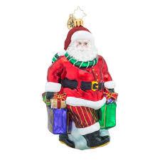 christopher radko ornaments radko shopping all done santa