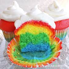 rainbow cupcakes the who ate everything