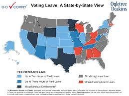 Texas Election Map by A New Primer On Voting Leave Requirements Are You Ready For The