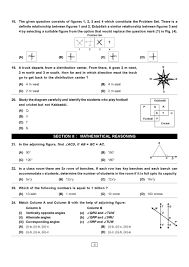 class vi maths olympiad exam sample question papers 2017 2018