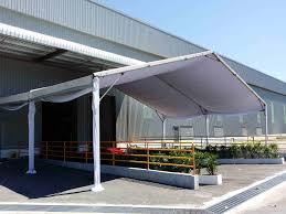 rental tent platform