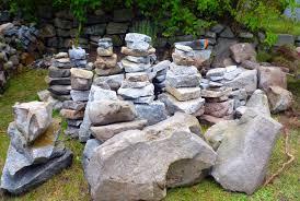 awesome building a rock garden how to make a rock garden alices