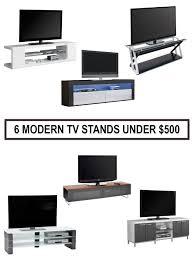 modern tv stands best modern tv stands under 500 minimalist home furniture for