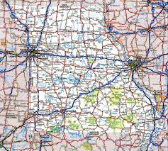 map of roads highway and road of missourifree maps of us