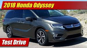 test drive 2018 honda odyssey testdriven tv