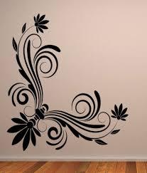 destudio floral corner wall art one wall art stickers and wall destudio floral corner wall art one wall art stickers and wall decal
