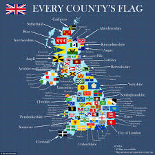 Uk Beach Flags Could You Recognise The Flag Of Your County Daily Mail Online