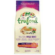 trufood baked nuggets small breed wellness pet food