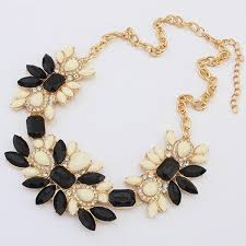 chunky statement chain necklace images Hot charm crystal statement bib choker chunky necklace jewelry jpg