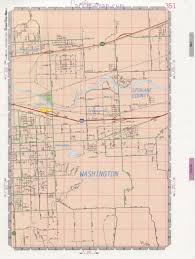 Usa Road Maps by Veradale Community Road Map