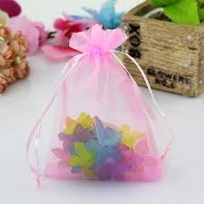small organza bags 100pcs lot big size organza bags wedding favor cosmetics candy