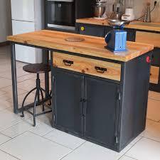 meuble de cuisine style industriel meuble cuisine industriel cheap plan cuisine en u avec ilot u