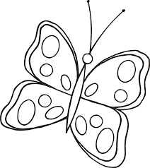 cute butterfly line drawing cliparts co