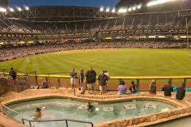Arizona Stadium Map by Chase Field Arizona Diamondbacks Ballpark Digest