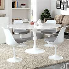 what size centerpiece for 60 round table new round marble dining table in american eagle dt h38 modern