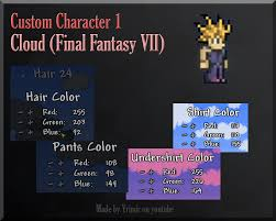 Terraria Map Viewer Character Customization Via Hairstyles 1 Gaming With Yrimir