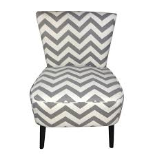 Black And White Striped Accent Chair Joveco Fabric Chevron Armless Accent Side Chair Light Slate Grey