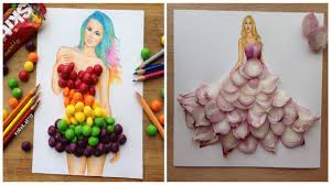 fashion designer fashion designer creates gorgeous dresses from everyday objects