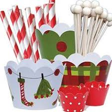 amazon com elf theme christmas party supplies pack hostess gift