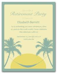 retirement announcement printable retirement invitation template