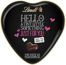 heart chocolate lindt just for you heart tin s chocolates lindt shop