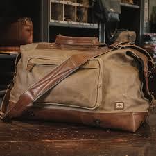 South Dakota travel shoe bags images Travel bag for men leather waxed canvas buffalo jackson jpg