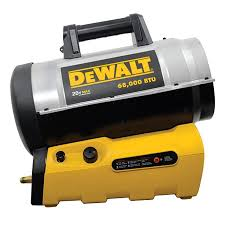 propane heater with fan shop dewalt 70 000 btu cordless forced air propane heater at lowes com