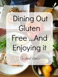 eating gluten free at restaurants a cheat sheet a clean bake