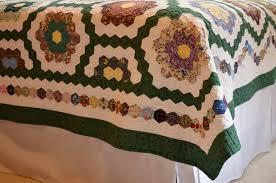 honeycomb quilt sewfrench
