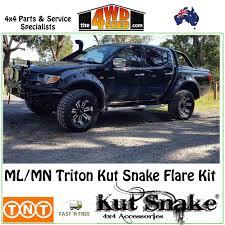 triton mitsubishi accessories kut snake flare kit mitsubishi triton mn ml ute kit